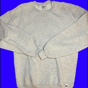 Russell Athletic Grey Crewneck Sweatshirt